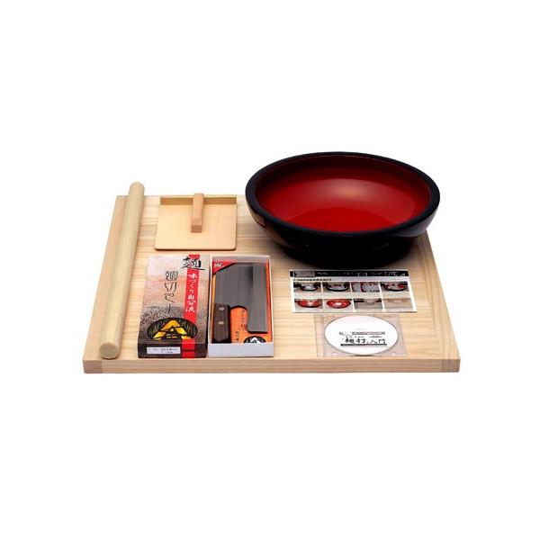 【送料無料】 豊稔企販 普及型麺打セット(そば・うどんDVD付) A-1200