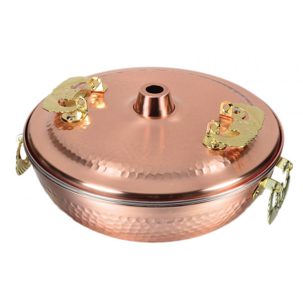 【送料無料】 パール金属 メイドインジャパン 純銅製しゃぶしゃぶ鍋 26cm HB-1790
