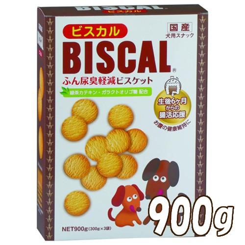 気になるふん尿臭を大幅にカットするビスケット 現代製薬 ビスカル 900g(26200120)