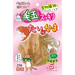 ペッツルート 毛玉スッキリたい味かま 25g(66201365)