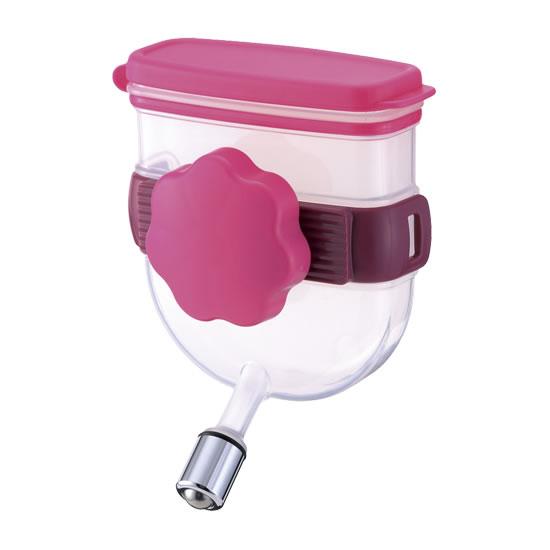 外出先でも簡単水分補給 ハードキャリーに取り付けできるコンパクト給水器 美品 リッチェル ウォーターノズル 再再販 キャリー用 92500001 ピンク