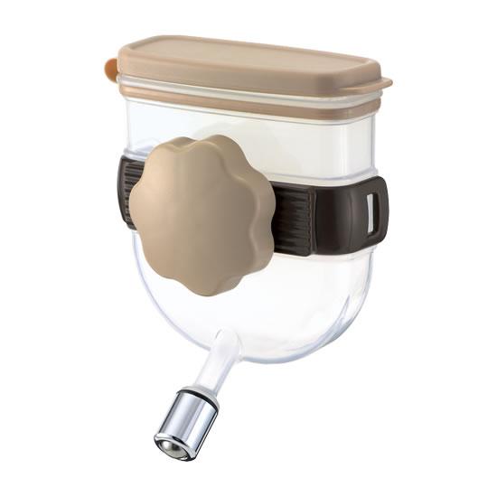 ハードキャリーに取り付けできるコンパクト給水器 リッチェル ウォーターノズル 激安特価品 即納送料無料! キャリー用 92500002 ブラウン