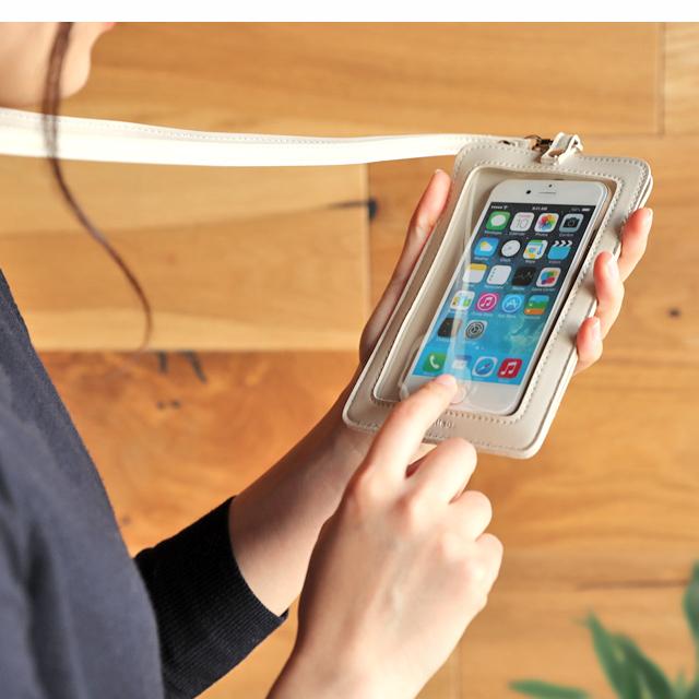 【楽天市場】スマホ ポーチ スマホポーチ ケース アイフォン Iphone11 Xr ケース ネック ストラップ 首