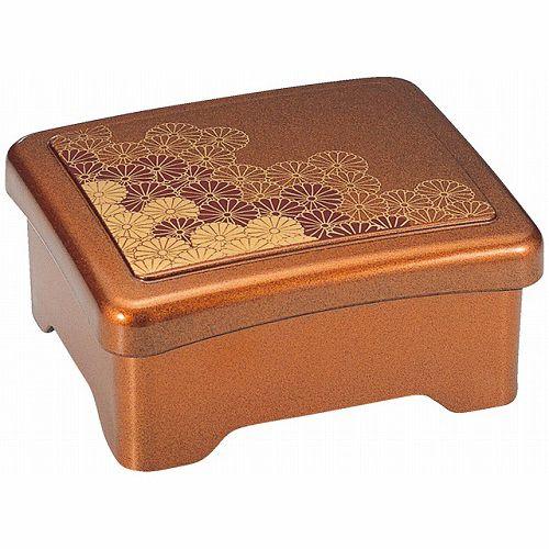 本店 うな重 容器 うなぎ 重箱 販売 一段 A うな重箱 光月丼重 梨地野菊内朱 お店の雰囲気でおうちでうな重を食べよう