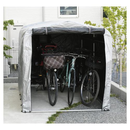 【送料無料】【組立式】 サイクルハウスMS-3 ※※ cyclehousesiri 自転車 タイヤ 物置 ガーデンニング 収納 ※※