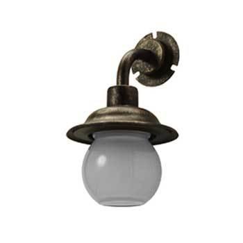 【送料無料】LED ライト ロンド(エージブロンズ) NL1-L27BZ ※※ londekaku 門柱灯 アンティーク LED 照明 ライト ※※