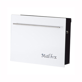 【送料無料】ノイエキューブ(ピュアホワイト) GM1-EZ105 ※※ noiecubenewsiri デザインポスト 郵便ポスト ※※