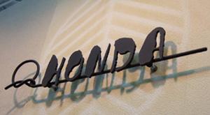 【送料無料】 和錆表札 結(ムスビ)N-70/黒艶消し仕上 ※※ ロートアイアン サイン アンティーク調 表札 新築 リフォーム ※※