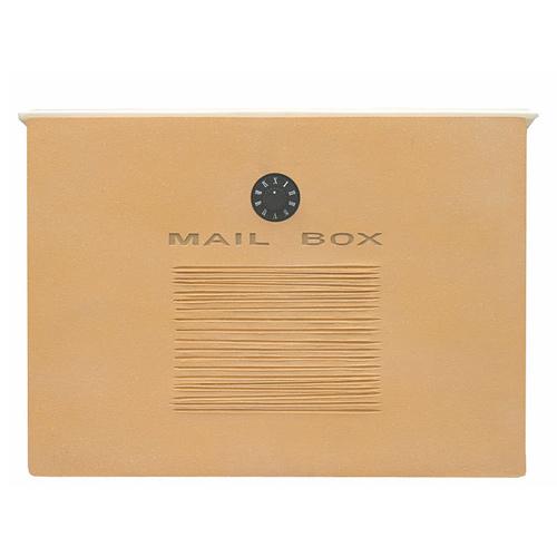 【送料無料】 メールボックス クレア(イエロー) DSA0705 ※※ ディーズガーデン シンプル デザイン 郵便ポスト 郵便受け 新築 祝い 戸建て リフォーム ※※