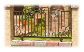 【送料無料】 ガーデンフェンス(柱セット) ※※ ディーズガーデンアルミ 鋳物 錆びにくい フェンス ※※
