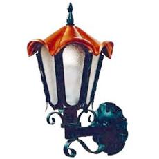【送料無料】ロートアイアンと銅のクラシカルな風合いをもつ高級感漂うアンティーク調ライトです。 【送料無料】 ロージーウォールランプ(センサー無) ※※ 玄関 屋外 おしゃれ 門柱 灯 ライト 照明  ※※