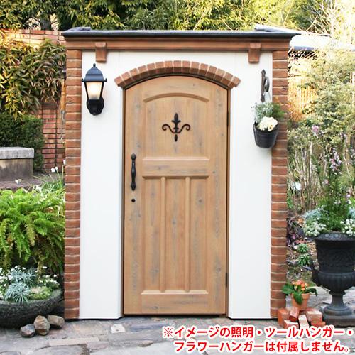 Canna cute (orange) ★ storeroom in type dressing shed design antique European Western-style outdoor brick storeroom deeds garden.
