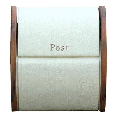 【送料無料】 メールボックス シフォン(ホワイト) DSA0303 ※※ ディーズガーデン かわいい 人気 おしゃれ デザイン 郵便ポスト 郵便受け 新築 祝い 戸建て リフォーム ※※