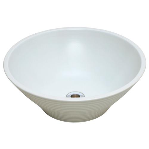 【送料無料】 千段水鉢 TK3-E-CBW ※※ オンリーワン 屋外 陶器 モダン 水受け パン 洗い場 ※※