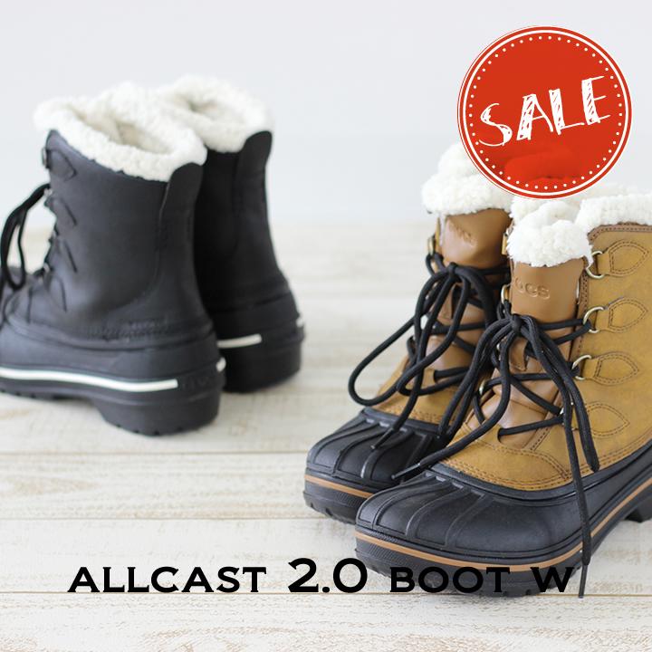 クロックス レディース SALE crocs b メーカー再生品 ウィメン オールキャスト2.0 ブーツ Boot Allcast2.0 安い 激安 プチプラ 高品質