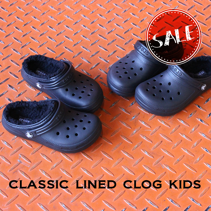 classic lined clog kids/クラシック