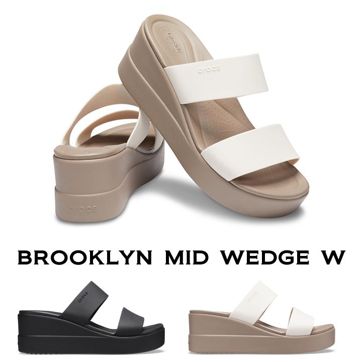 クロックス crocs レディース b brooklyn mid wedgeブルックリン ミッド ウェッジ ウィメンhQsdrt