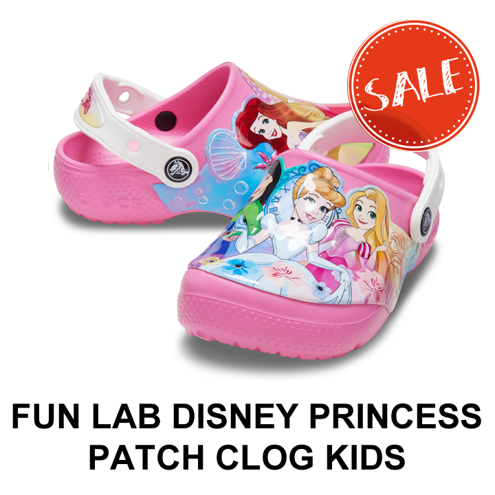 60%OFF スーパーセール クロックス crocs キッズ Fun Lab Disney Princess パッチ Patch クロッグ Kids メーカー直送 プリンセス 爆売りセール開催中 ディズニー ファンラブ Clog