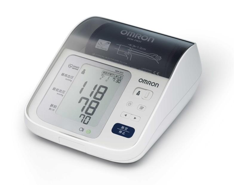 送料無料 オムロン 上腕式血圧計  HEM-8731  血圧計/健康/血圧/FU-TO