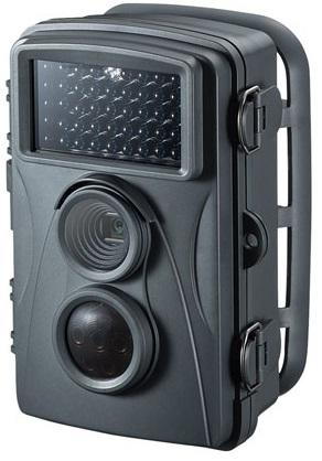 赤外線センサー内蔵 セキュリティカメラ CMS-SC01GY カメラ 赤外線 防犯 防水 防塵 駐車場 監視 観察 サンワサプライ 送料無料