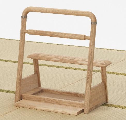 天然木 ふとん用手すり 立ち上がり 起き上がり 布団 介護用品 介護 安心 安全 手すり 木製 畳 床 フランスベッド FU-TO 送料無料