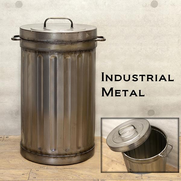 送料無料 【Industrial Metal】ゴミ箱 ダストボックス ★インダストリアル ガベージボックス ★