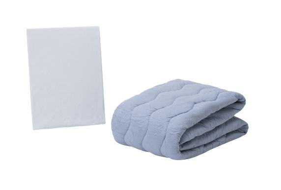 クラウディアベッドパッド マットレスカバー付き セミダブルサイズ|マットレス ベットパット ベッドパット 敷きパッド 敷きパット 敷パット 敷きぱっと 敷パッド ベッドパッド パッドシーツ パットシーツ マットレスカバー セミダブル フランスベッド フランスベット