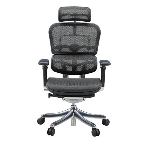エルゴヒューマン プロ ハイタイプ ブラック EHP-HAM BK(KM-11)|代引不可|チェア チェアー 椅子 いす イス オフィス オフィスチェア オフィスチェアー 肘 キャスター キャスター付き椅子 ハイバック メッシュ エルゴヒューマンプロ 肘付き デスクチェア ゲーミングチェア