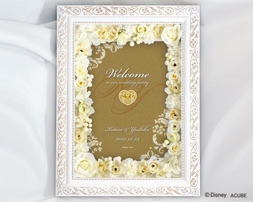 【Disney】ディズニー 結婚式 ウェルカムボード Wise フラワータイプ