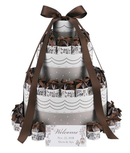 【プチギフト】ブルーバードクローバー ウエルカムオブジェ 紅茶3袋×40個セット