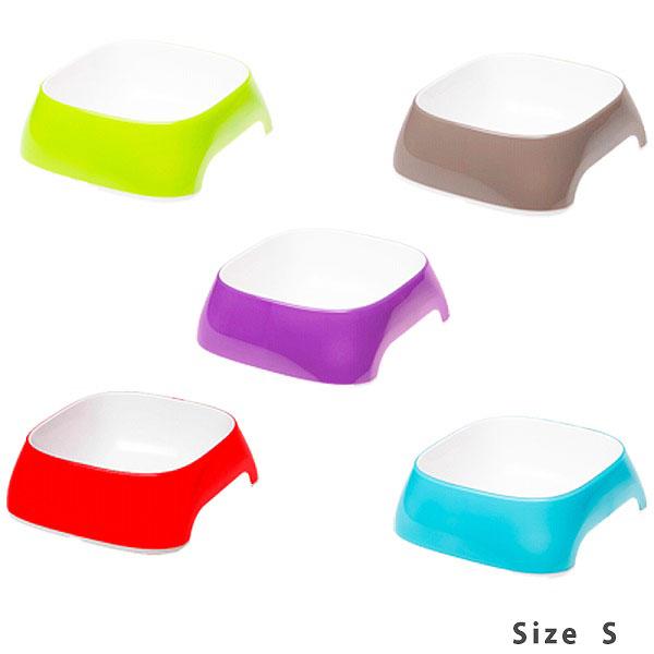 食器同士を無限大に連結できる画期的なプラスチック食器 新色追加して再販 イタリア ファープラスト ferplast社製 プラスチック食器 グラム~GLAM~ カラフル フードボウル オシャレ 2020 新作 プラスチック 食器 S