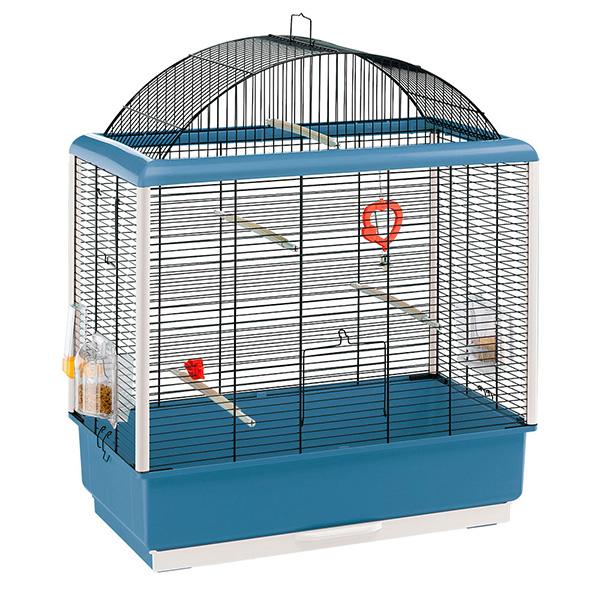 イタリアferplast社製 鳥かご パラディオ 4 Palladio 4 鳥籠 ゲージ フルセット カナリア セキセイインコ 小型鳥用