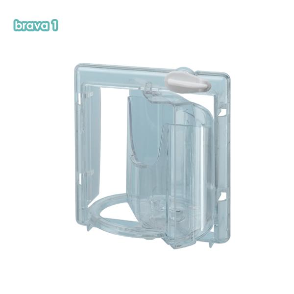 18%OFF イタリアferplast社製 BRAVA 1 ブラバ1 小鳥用 鳥かご専用 回転式のエサ入れ 新タイプ 餌入れ 最安値 エサ入れ 鳥 鳥用品