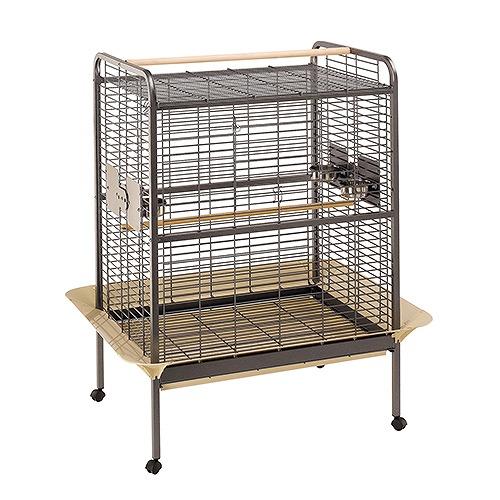 イタリアferplast社製 鳥かご オウム用ケージ エキスパート 100 Expert 100 鳥籠 ゲージ フルセット