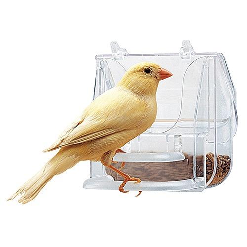 マーケティング イタリアferplast社製 PRETTY 4522 鳥用 即納最大半額 鳥かご専用 エサ入れ 鳥用品 鳥 餌入れ