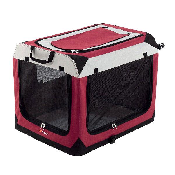 送料無料 イタリアferplast社製 ホリデイ 6 犬 猫 折りたたみ テント ハウス ソフトクレート 中型犬
