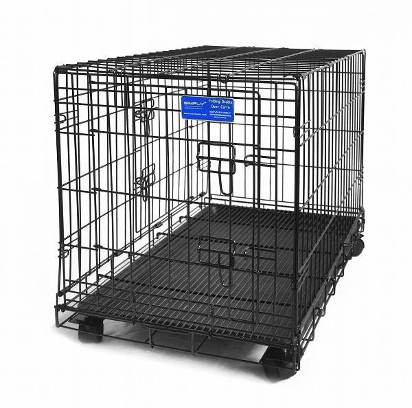 送料無料 SIMPLY シンプリー メゾン 犬 ゲージ サークル ケージ キャスター付 いぬ ペット用 DMM30 Mサイズ