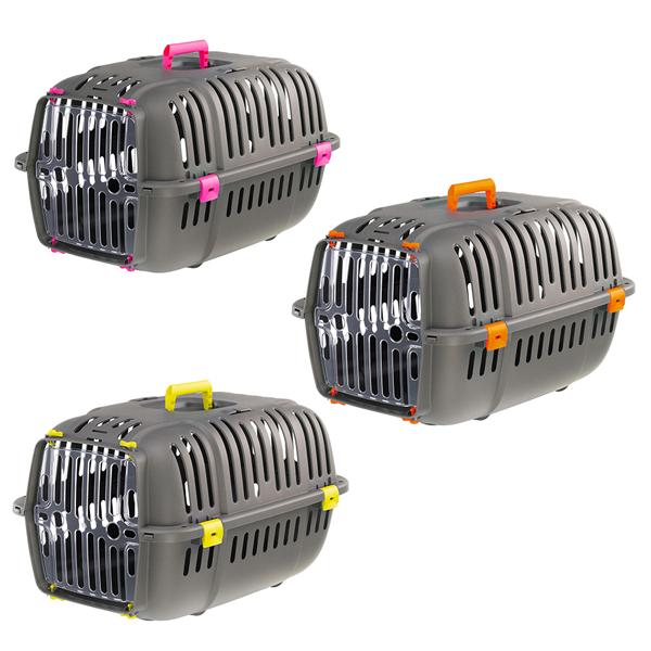 送料無料 組立発送犬 猫用キャリー イタリアferplast社製 JET 20 ジェット20 キャリー 組立発送 耐荷重8kgまで 小動物 通院 猫 旅行 おでかけ レビューを書いてプレゼント セール開催中最短即日発送 犬 ペット用 着後レビューで 送料無料 外出