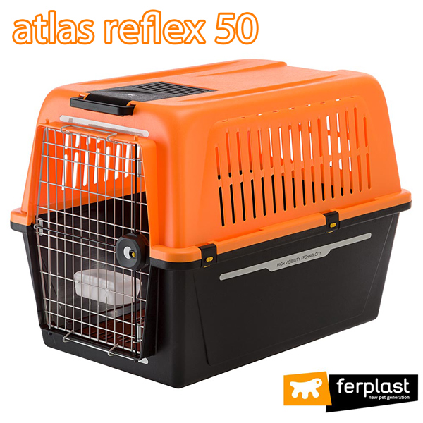 送料無料 イタリアferplast社製 アトラス 50 リフレックス atlas 50 REFLEX キャリー ペットキャリー 犬 ゲージ 飛行機IATA航空輸送基準をクリア