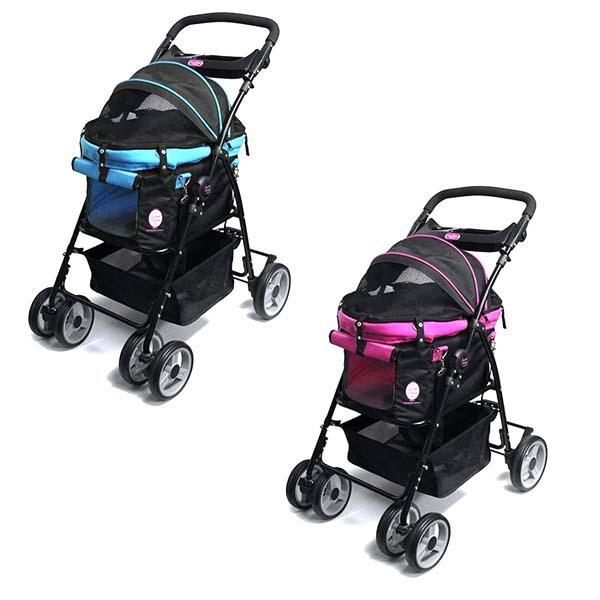【送料無料】 多機能ペットカート ディア・スイートハートカート 犬 猫 ペット用 バックのみでも使用可能