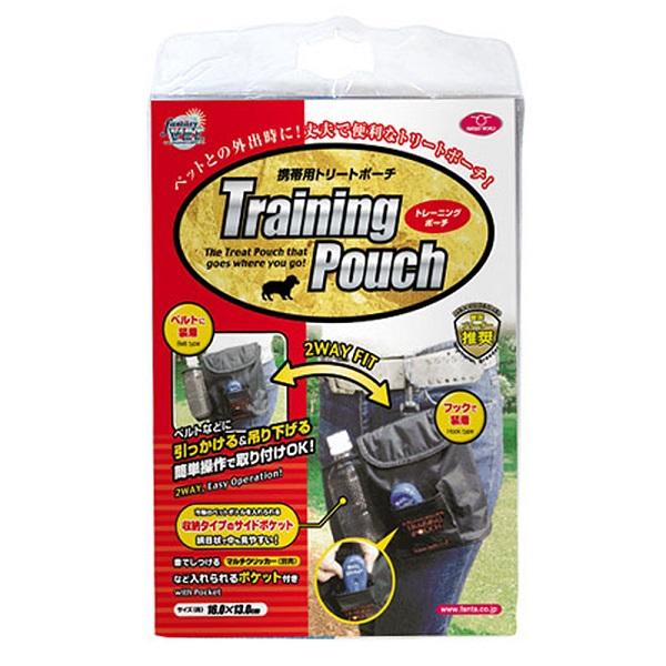 外出時やトレーニング時に便利 トレーニングポーチ