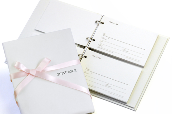 Guest book Luce standard card types ( 60 cards with ), non, wedding guest book, guestbook