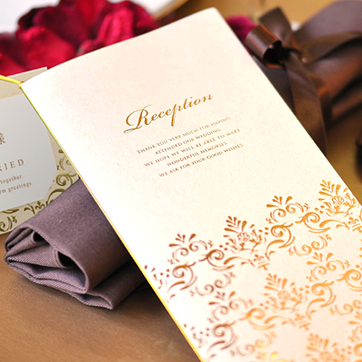 Write a review until 10 / 31 hot deals and templates with 'Camille' seating table brochure hand-made set, wedding seating bridal paper items