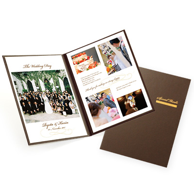 【国産品質】A4 2面台紙 プレシャスブック  スタンダードタイプ<ホワイト> /結婚式両親へのプレゼント