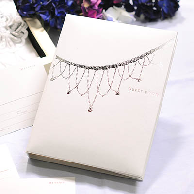 "' Write a limited review until 10 / 28 special (non-return) ""Wedding guest book bijoux standard card types, response, wedding guest book guestbook"