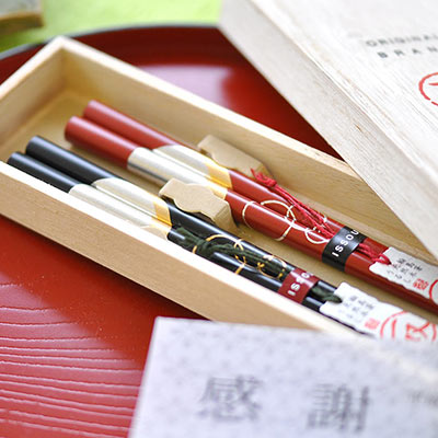 "Thanks chopsticks couple set parents 'town with good evening waiting for the Moon"", wedding gifts"