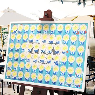 エスコートカード+A1ボードセット「トロピカル」/結婚式