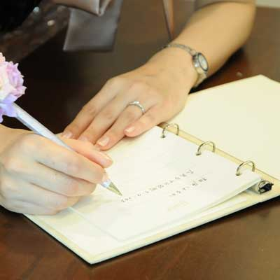Guest book wedding Bijou (Mt) / guestbook