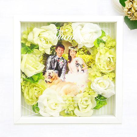 感謝ボード(スクエア)「キャンディローズ ピュア」/結婚式/両親へのプレゼント
