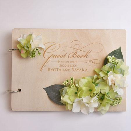 farbesis | Rakuten Global Market: / Guest book / wood flower guest ...